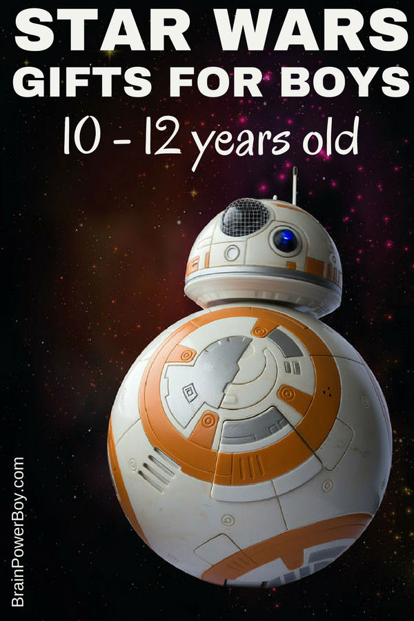 Looking for the Star Wars gift for guys 10 - 12 years old? We have you covered. Finding the perfect gift for this hard to buy for age is easy with this awesome Star Wars gift list. You won't go wrong with any of the choices here!
