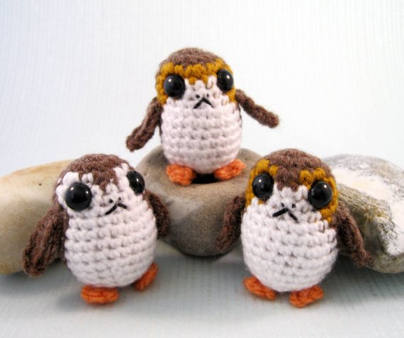 Star Wars Porg Crochet Amigurumi