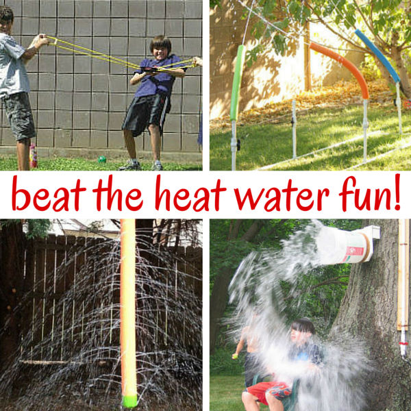 Want to beat the heat this summer? Look no further than your own backyard! These backyard water play ideas are the perfect thing for hot summer fun.