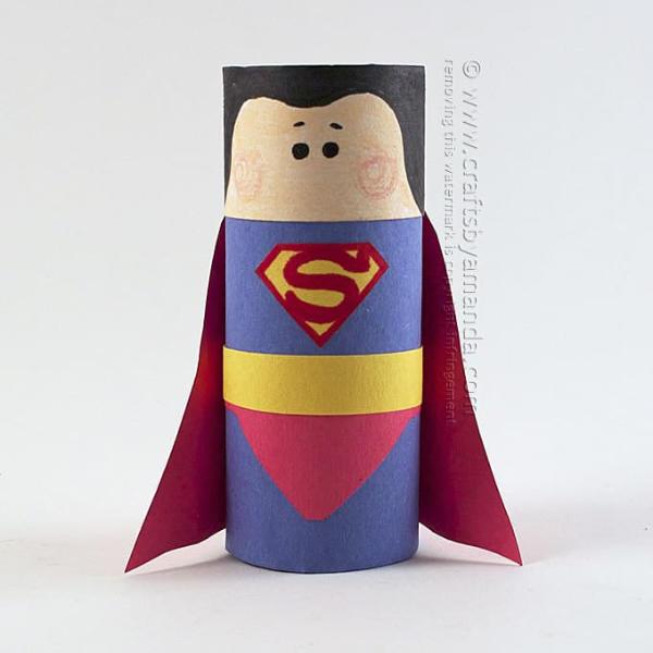 Superman Cardboard Tube