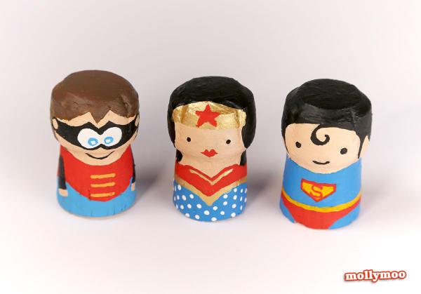 Superman Cork Figure