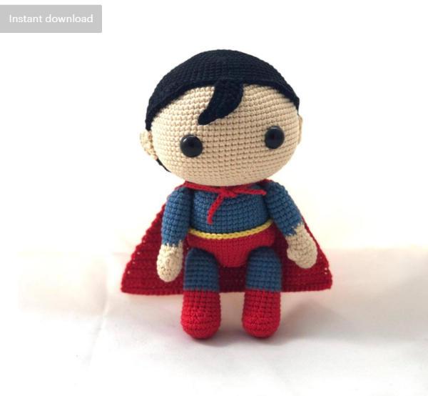Superman Crochet Pattern