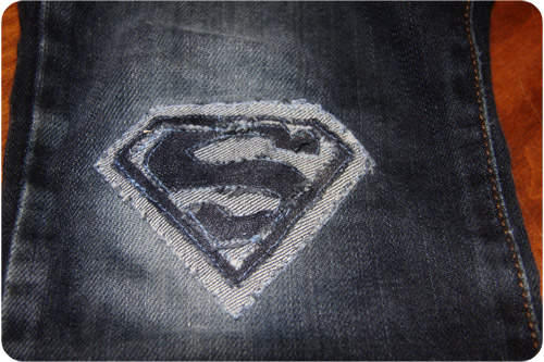 Superman Emblem DIY Patch