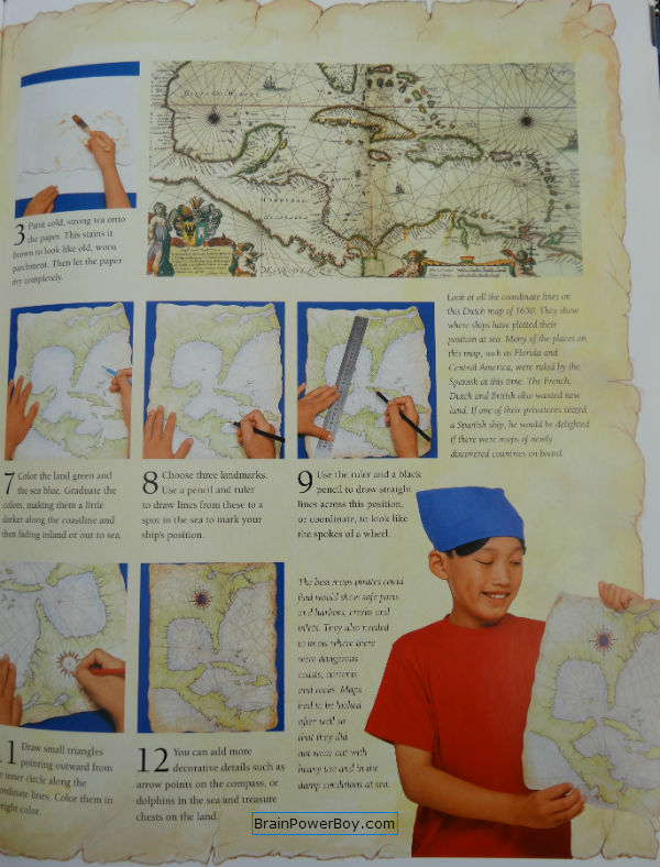 The Amazing World of Pirates Book Review. Activity