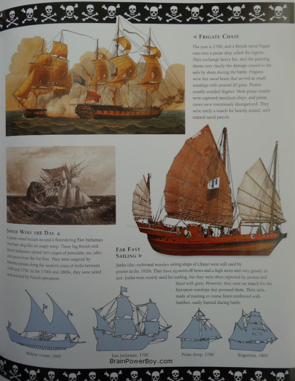 The Amazing World of Pirates Book Review. Ships