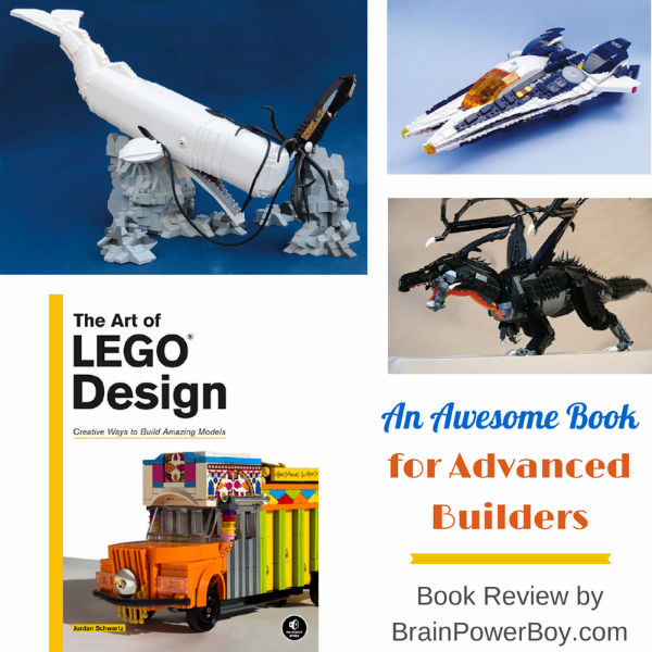 The Art of LEGO Design Book Review shares a book for advanced builders.