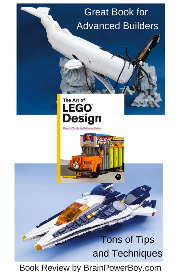 The Art of LEGO Design | Book Review by BrainPowerBoy.com | Great for Advanced Builders