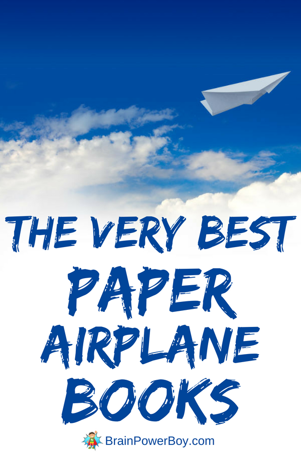 Get them now! Grab the very best paper airplane books and make some cool paper airplanes with your kids. This list has only the best books on it. It is short, but awesome! Click to get the book list.
