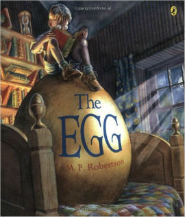 The Egg is a beautifully illustrated book that no boy who likes dragons should miss