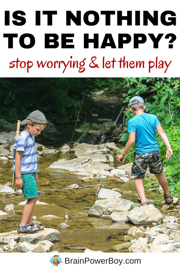 We worry. But is our worry causing us to push our kids when they should be playing and learning in a more natural way? Does your schedule need to be readjusted to allow for more free play? Read a beautiful quote and some ideas that will allow you to stop worrying and help your kids learn in the best way possible. Click image to read more.