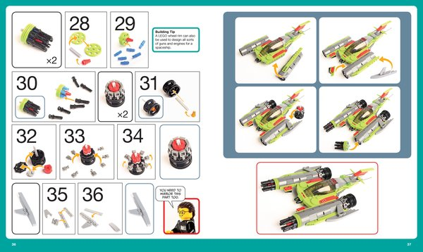 The LEGO Adventure Book 2, Havoc A Viper Fighter