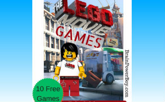 Boys will enjoy playing The LEGO Movie games.