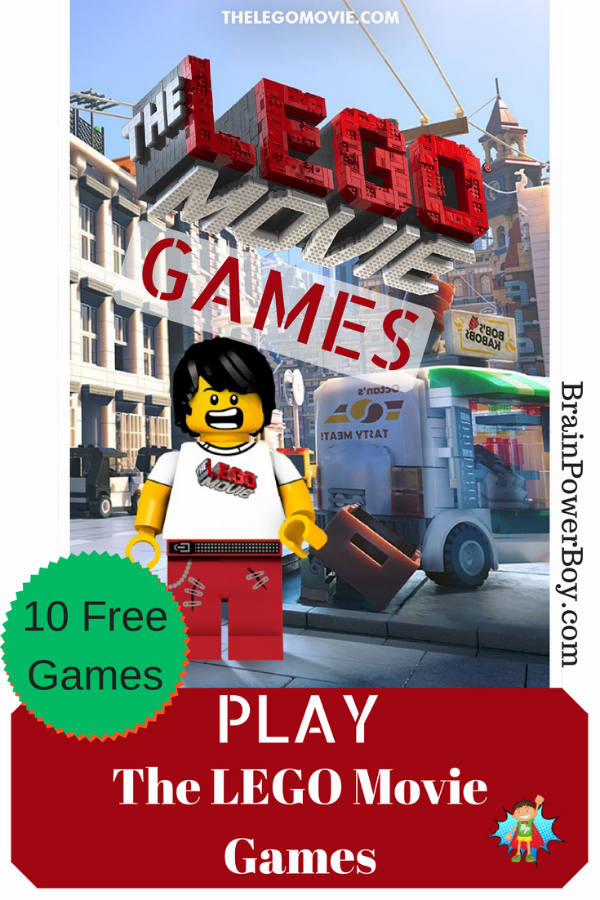 Play 10 free The LEGO Movie games, plus make a LEGO minifig of your own to use in game (example in the image.) Fun!