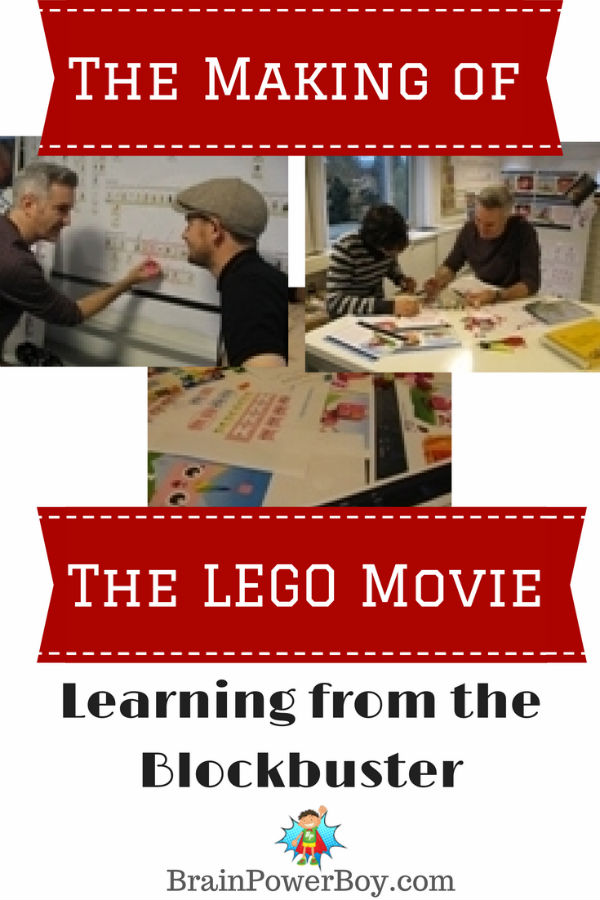 The LEGO Movie: How Boys Can Learn from It. Watch videos, learn about the process, find tools your boys can use and learn a lot while having fun.