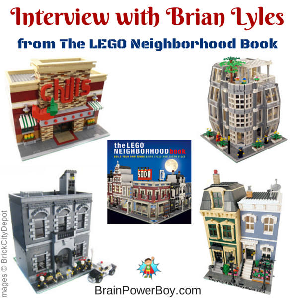 The LEGO Neighborhood Book Brian Lyles