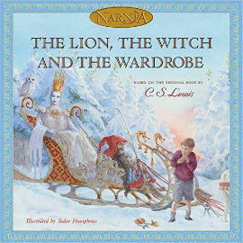 The Lion, The Witch and the Wardrobe in picture book form