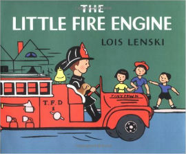 The Little Fire Engine is a classic fire truck book for boys