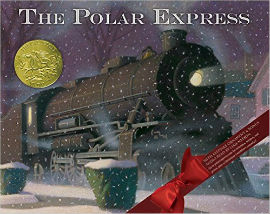 The Polar Express with its beautiful illustrations holds a place in our best picture books for boys list.