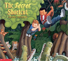 The Secret Shortcut has two boys who are late to school but honestly, they have a very good excuse.