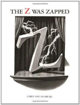 The Z Was Zapped is a dark alphabet books boys will enjoy