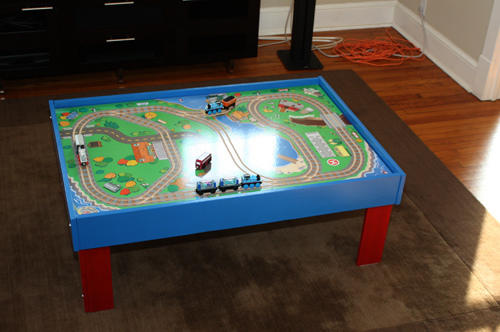 Thomas the Tank Engine Style Train Table
