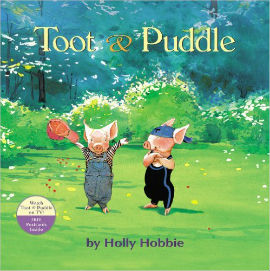 Toot and Puddle is a best book for boys on friendship