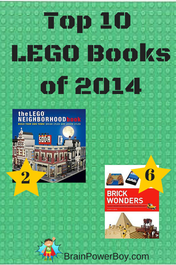 What was the best LEGO book in 2014? See our list of the Top 10 LEGO books and find out which one is the very best.