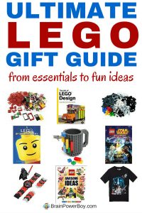 THE best gift guide for LEGO lovers. The Ultimate LEGO Gift Guide has everything from essentials to books, t-shirts, sets, bricks, plates, DVDs, games, educational LEGO ideas, and much more. Click the picture to see everything in this guide and pick the PERFECT LEGO GIFT for your LEGO fan.