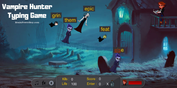 Don't let the vampires get you! Fun game!!