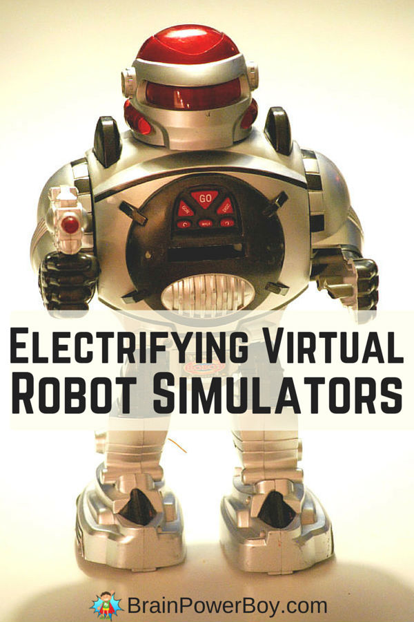 Totally cool virtual robot simulators to try. Build, control a bot, complete tasks and more using these programs. They are a great way to learn while having some awesome robot fun.