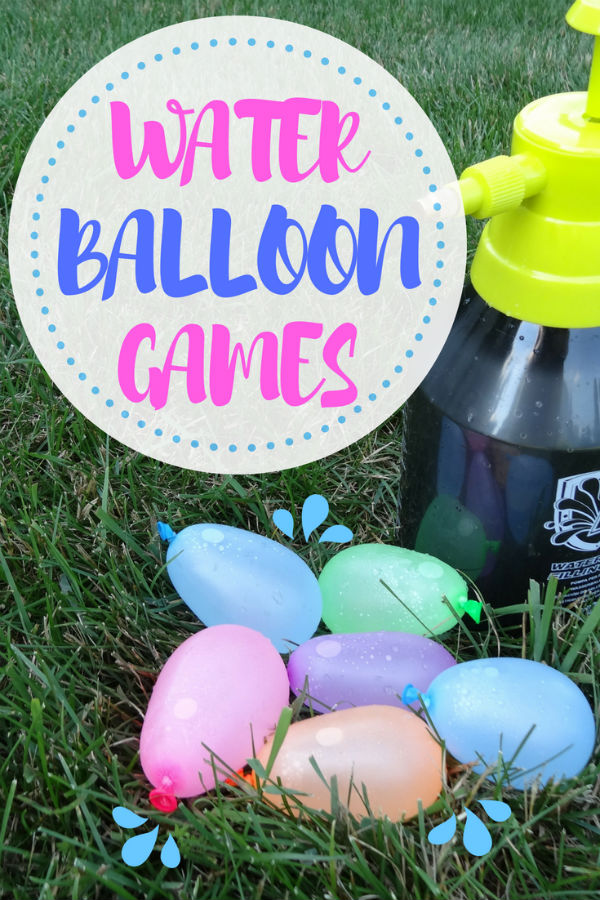 You do not want to miss these water games! There are more than 20 to choose from and you know we had to include water balloon games too because . . . they are way fun!