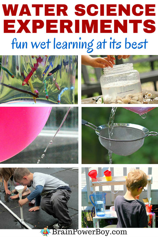 Awesome water science experiments that your kids are going to LOVE. Guaranteed fun learning time ahead. Click to see the experiments.