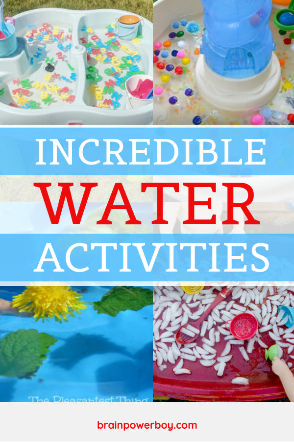 These water table activities are not to be missed! Keep kids cool and get a lot more use out of your water table with these neat ideas.