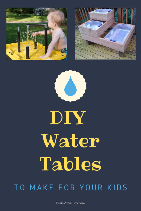 Find the perfect water table to make! Tap or click to see them all. (also includes some super sand tables as well)