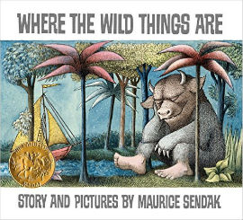 Where the Wild Things Are. Classic boy book.