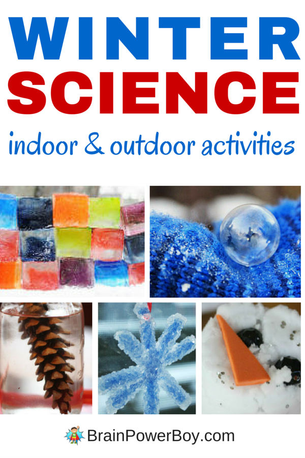 Don't Miss These Indoor and Outdoor Winter Science Activities