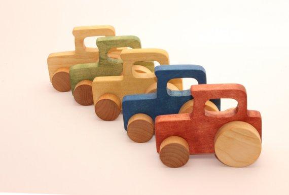 Wooden Truck Gift Idea
