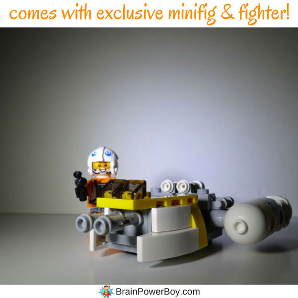 Wow! We are loving this book and the minifig and Y-Wing fighter that came with it. (ad)