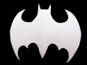 Batman snowflake pattern idea