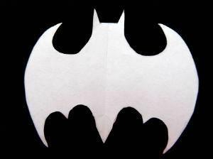 Batman snowflake pattern idea