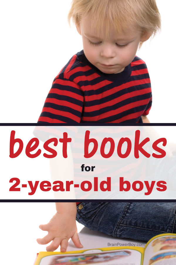 The very best books for 2 year old boys! See this awesome book list with fiction, non-fiction and concept books your little boys will love.