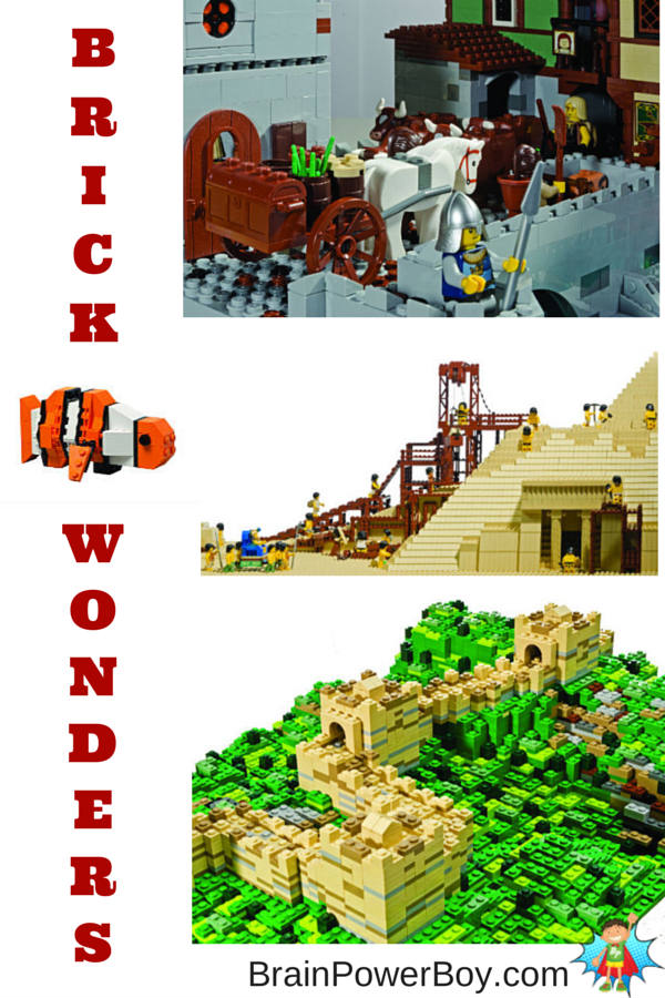 Best Books for Boys--new LEGO title, Brick Wonders