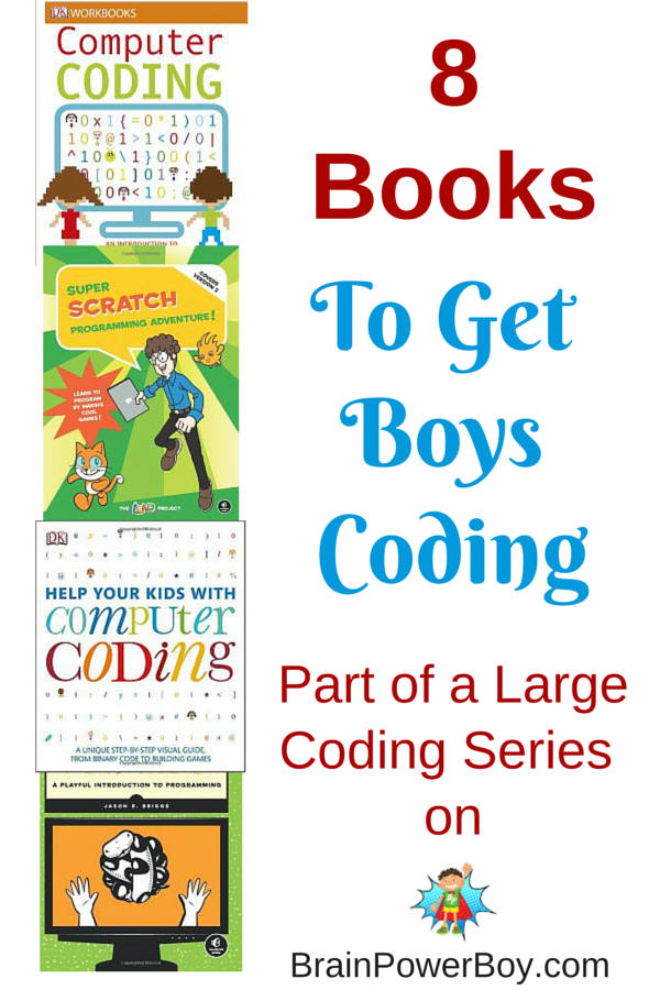 8 super books for getting your boys coding.