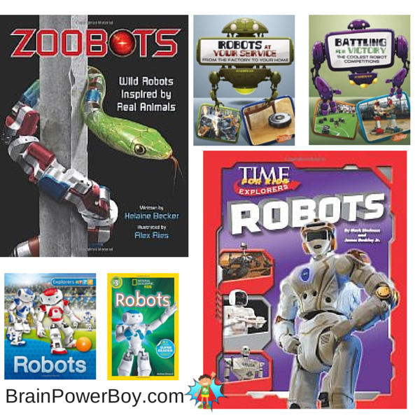 Best Books for Boys Nonfiction Robot Books