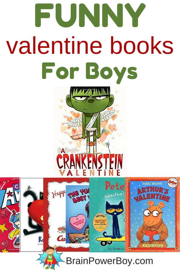 Funny Valentine Books for Boys