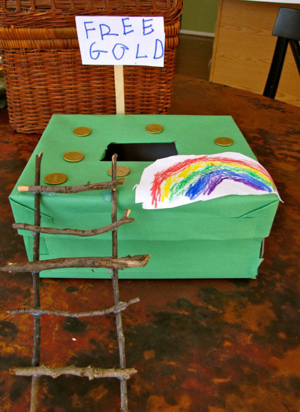 charming trap for a leprechaun