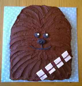 Simple Chewbacca Cake