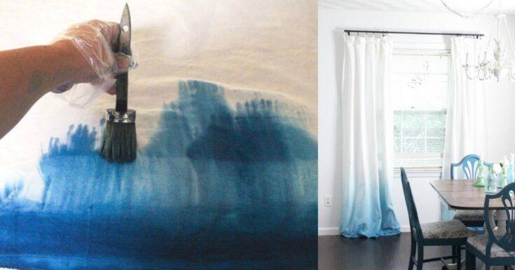 Ombre Dye Curtains