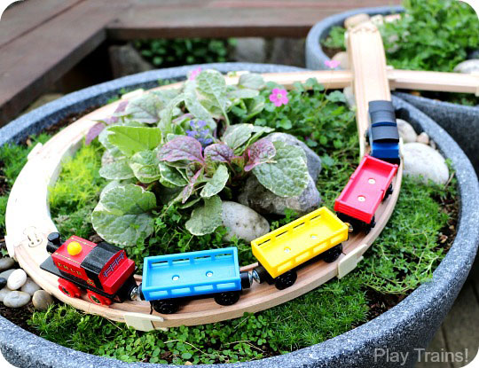 Outdoor Train Table