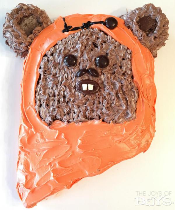 Easy Ewok Cake
